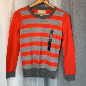 New Banana Republic Sweater XSmall Orange/Metallic